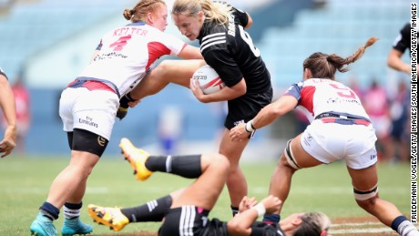 Atlanta will host the next round of the Women's Sevens Series in April.