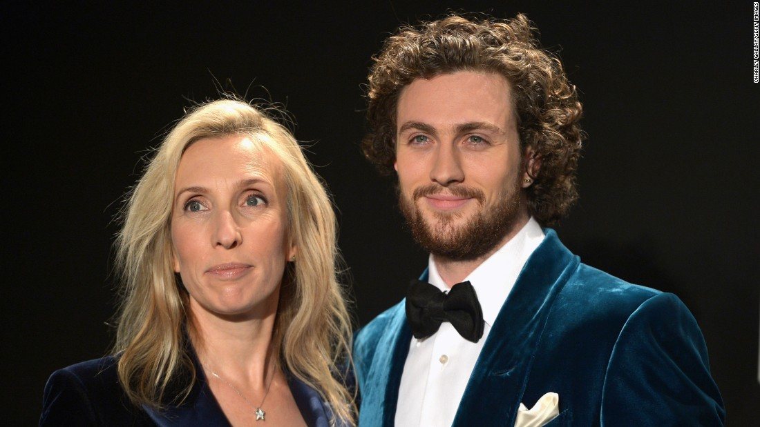 Actor Aaron Taylor-Johnson, 26, married filmmaker Sam Taylor-Johnson, 49, in 2012. They have two children.