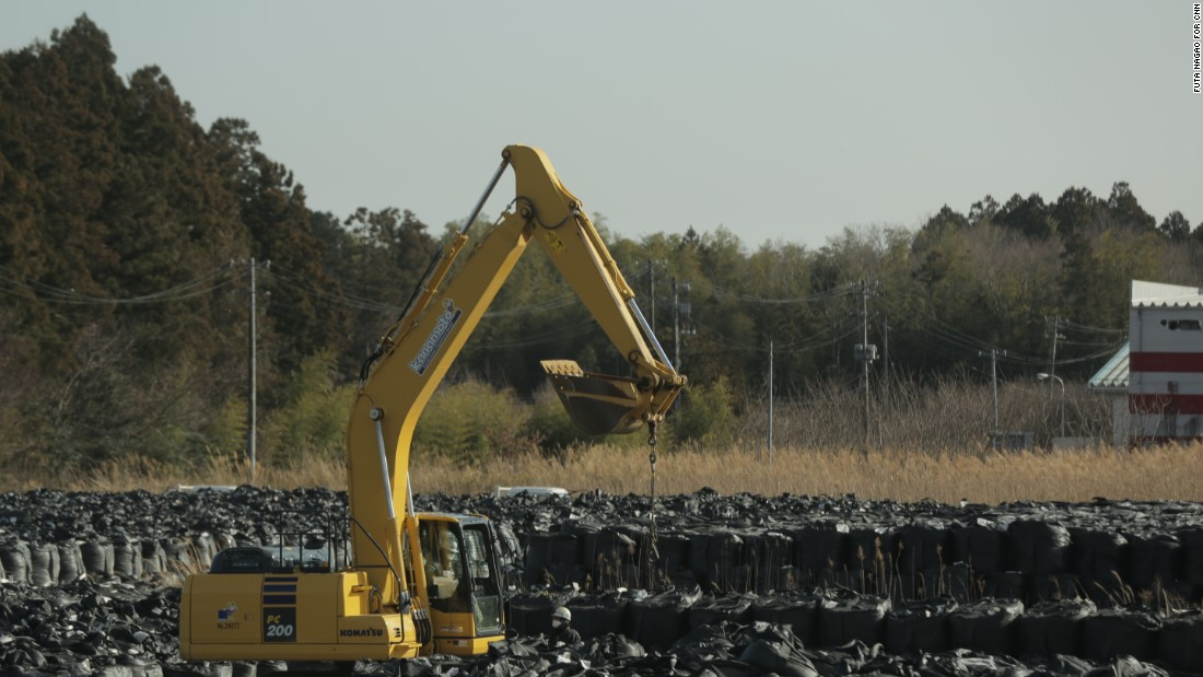 Colossal quantities of contaminated material have been collected from the Fukushima site and surrounding area. What will be done to dispose them still remains to be seen.