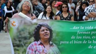 Slain Honduran activist laid to rest