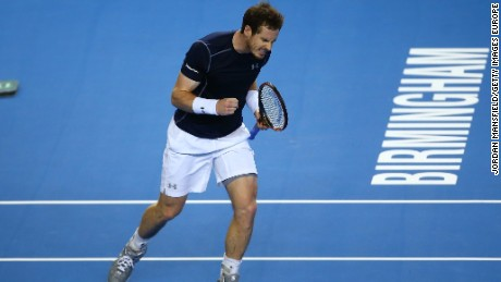 Andy Murray had to dig deep to see off Kei Nishikori of Japan to give holder Great Britain an unassailable 3-1 lead.