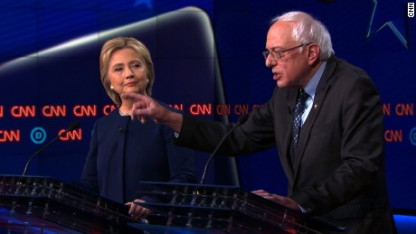 Clinton and Sanders battle over auto industry bailout