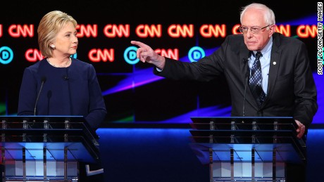 Sanders, Clinton spar over Wall Street ties