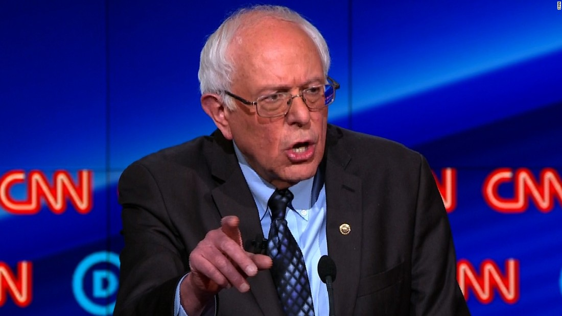 Bernie Sanders: 'My father's family was wiped out by Hitler in the Holocaust'