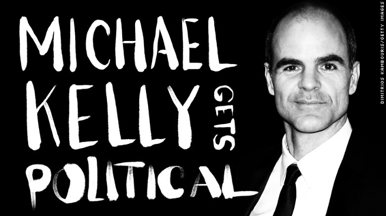 Michael Kelly (Doug Stamper) Gets Political