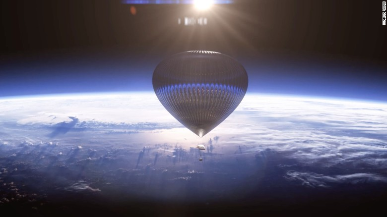 Ditch the rocket, take a balloon to space, says World View Enterprises.