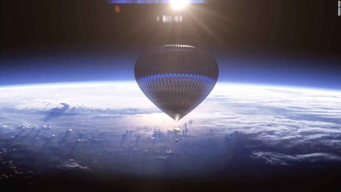 Company wants to balloon you to space for $75,000