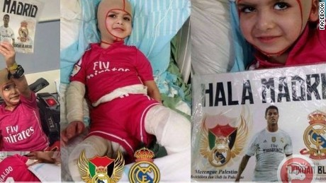 Ahmed Dawabsheh will travel to the Spanish capital to meet his Real Madrid heroes.