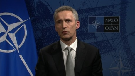 NATO: We decided to 'step up our efforts' on refugees