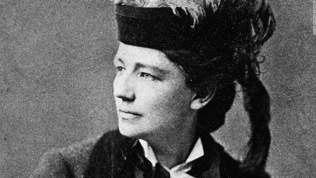 Feminist reformer Victoria Claflin Woodhull was the first woman to run for U.S. President from a nationally recognized ticket. She was the candidate of the Equal Rights Party in 1872.