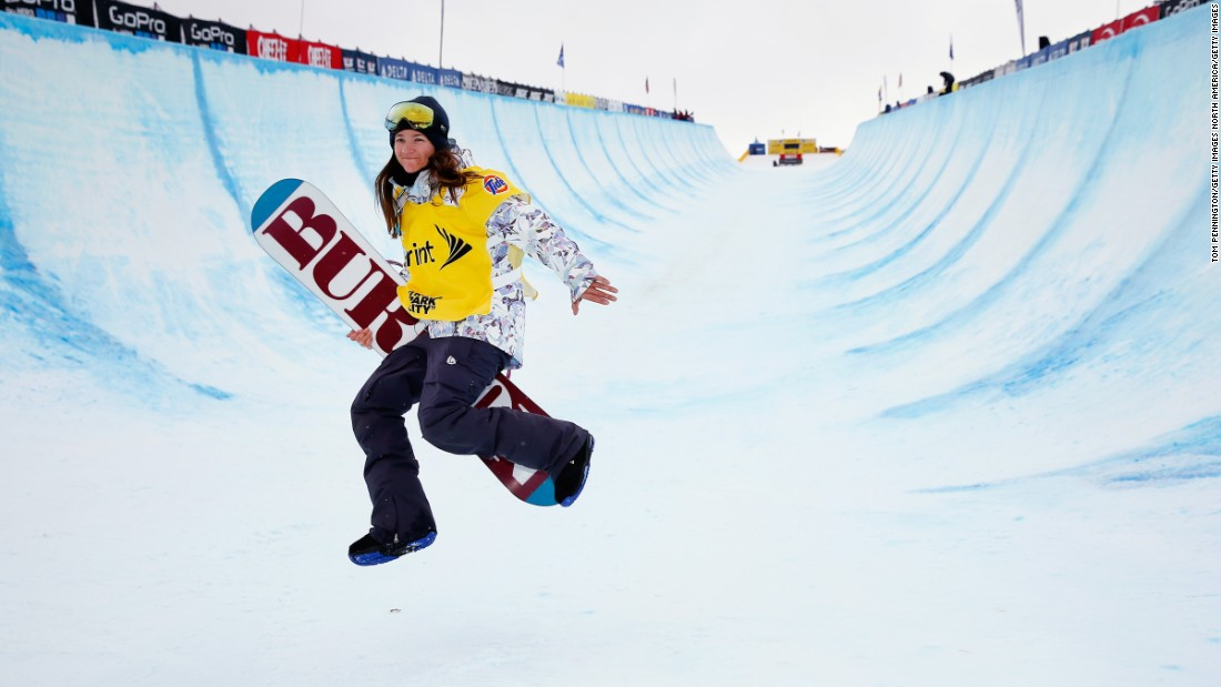 Clark, who won the gold in the 2002 Winter Olympics, as well as two Olympic bronze medals, is gunning for her fifth shot at the games in 2018. At 32, Clark is the most decorated halfpipe snowboarder in the sport's young history.