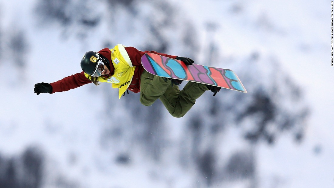 "Kelly Clark is the first female to nail a frontside 1080 twist in competition. ""Chasing down the tricks that no one else has done has been a mark of my career,"" she says."