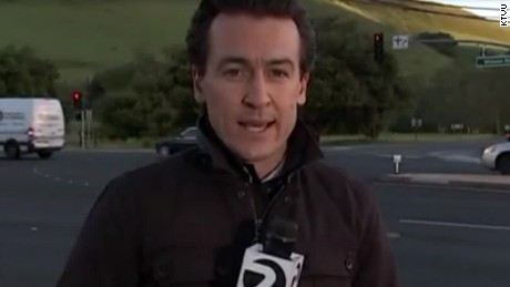 reporter almost hit by car erin moos pkg_00001915