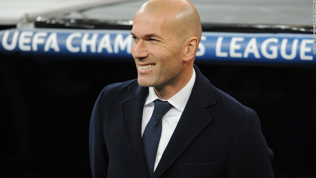 Zinedine Zidane marked his Champions League home debut as coach of Real Madrid with a convincing 2-0 win. Zidane scored the winner in the 2002 Champions League final for Madrid.