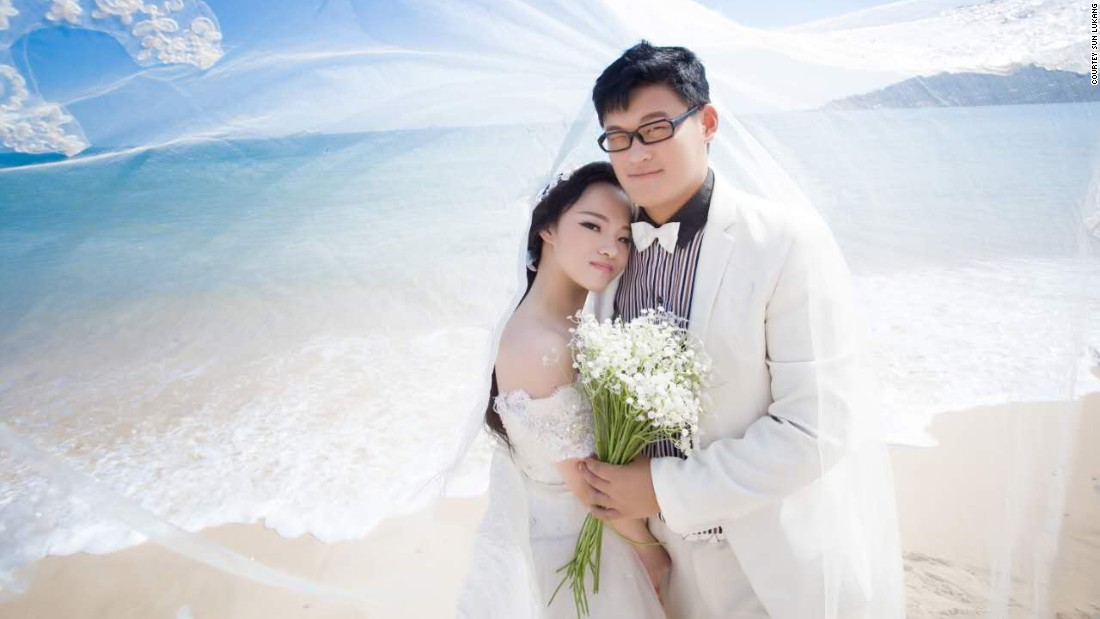 In February, Sun got married to Liu Defang, whom she met through a mutual friend in 2013.