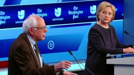 Hillary Clinton, Bernie Sanders clash over voting records