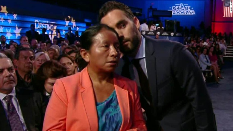 The most touching moment from the Univision debate