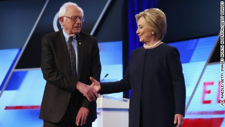 Clinton and Sanders fight over who has the New York state of mind