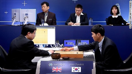 Go world champion Lee Se-dol took on Google's AlphaGo program in 2016.