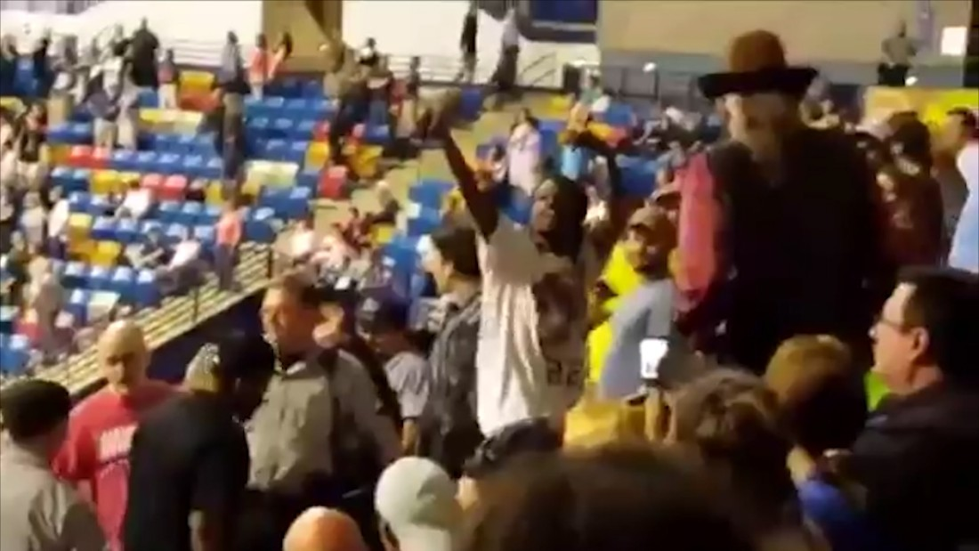 Trump rally attendee: We might have to kill protester