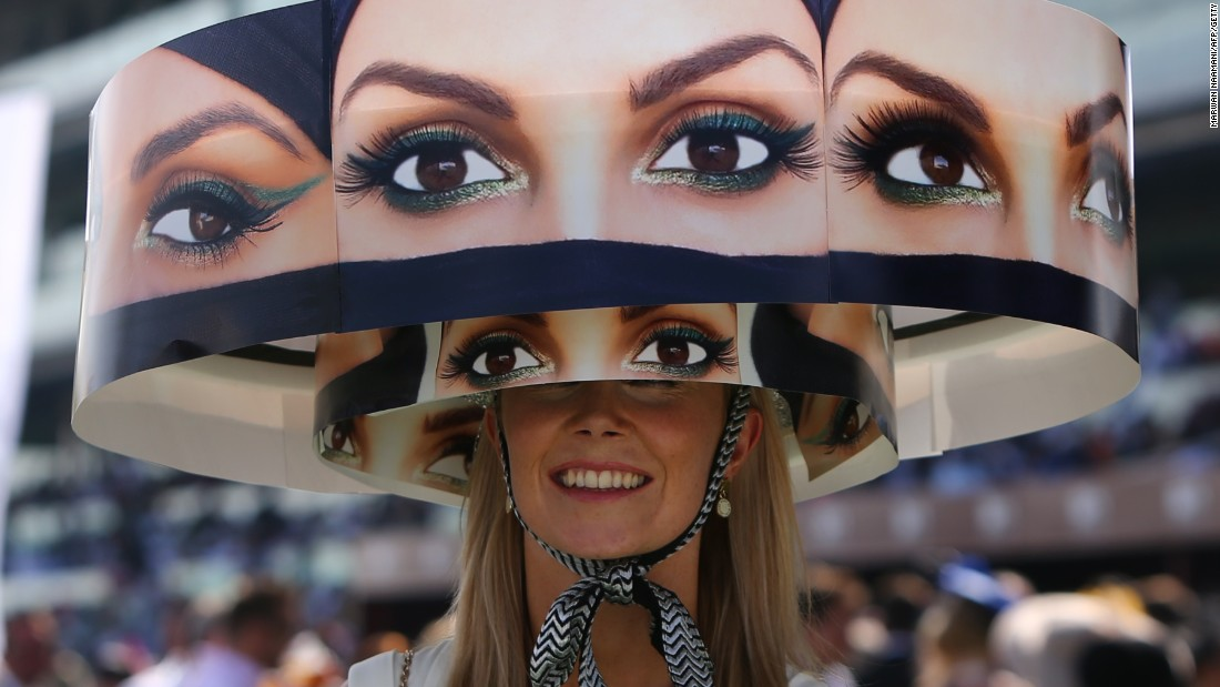 Punctuated by lavish parties, the month-long equine carnival attracts an international crowd of spectators, some sporting statement head wear.
