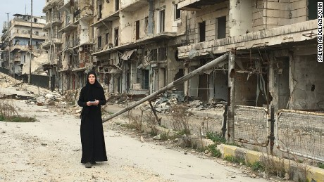 CNN's Clarissa Ward got exclusive access to the rebel-held areas of eastern Aleppo, Syria -- one of the few Western journalists to reach the area in more than a year.