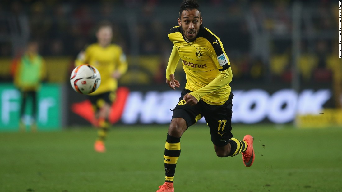 Borussia Dortmund's Pierre-Emerick Aubameyang has been one of the outstanding players of the season both in German and in European football this season.