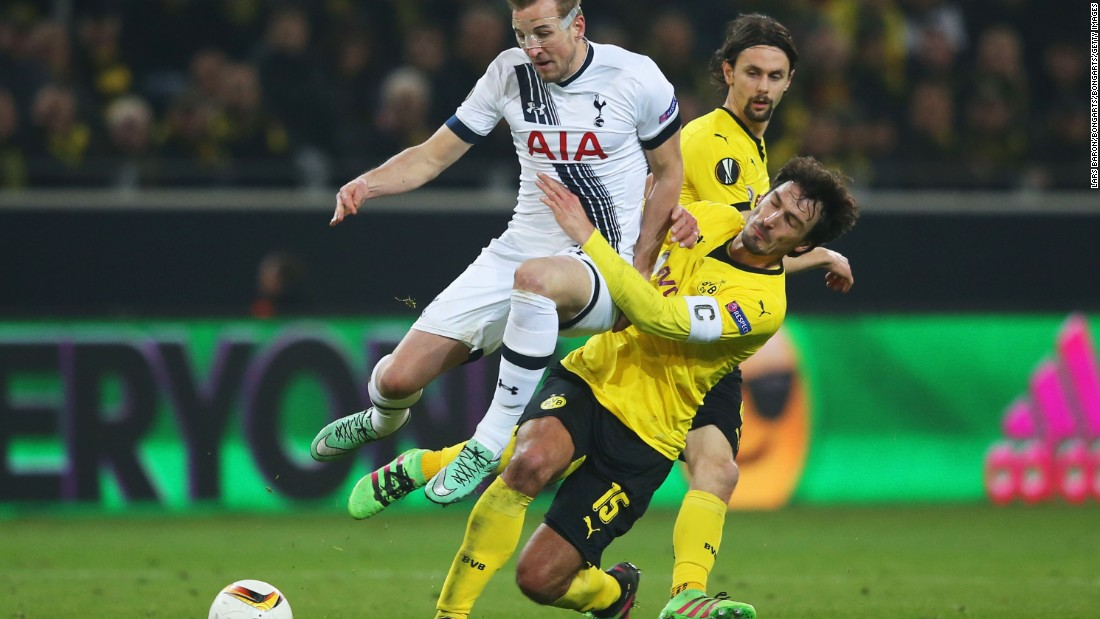 Kane was introduced to the fray late on, but could have little impact against a sturdy Dortmund defence.