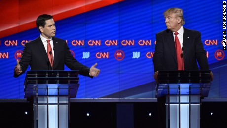 Donald Trump, Marco Rubio spar over Cuba
