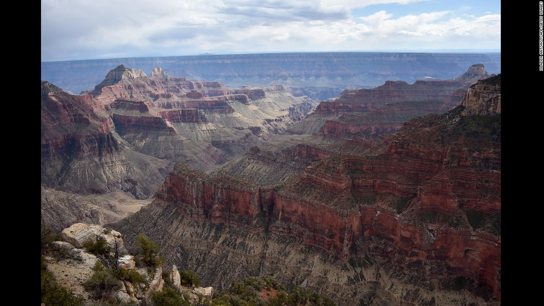 Roosevelt couldn't persuade Congress to make the Grand Canyon a national park, so he declared it a national monument in 1908. It was made a national park 11 years later.