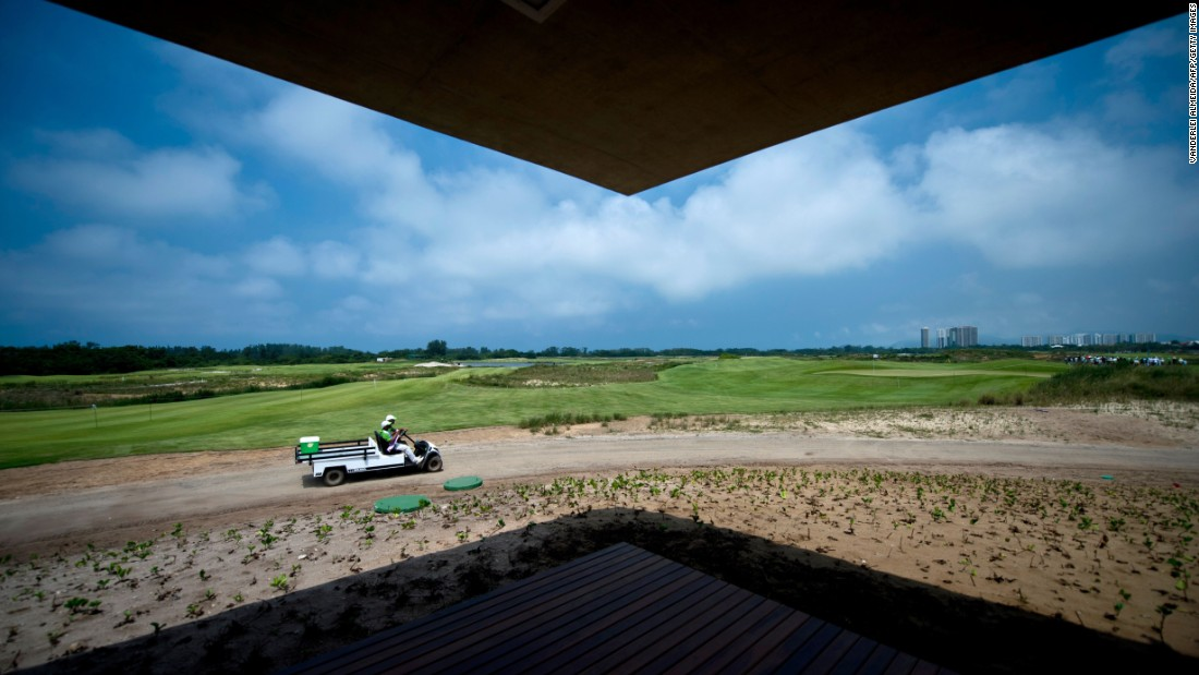 The course, which has been built on a nature reserve, has been dogged by controversy over land disputes and environmental concerns. But organizers say a recent report showed the course had actually contributed to the growth of local vegetation.