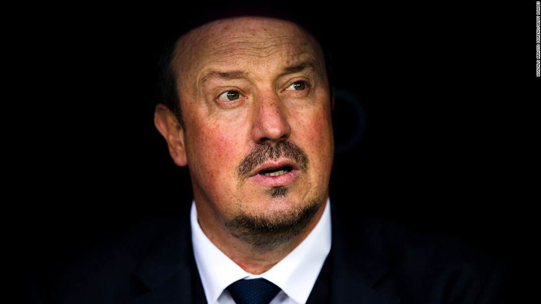 Rafael Benitez is the new manager of Newcastle United. The Spanish coach has 10 games to haul the struggling club out of the Premier League's relegation zone.