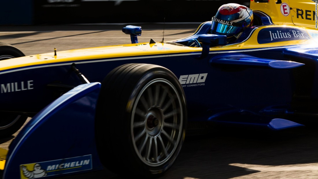 Sebastian Buemi was moved up to second behind Belgium's Jerome D'Ambrosio, and the Swiss driver leads the championship by 22 points from Brazil's di Grassi after five rounds of the 11-race series.