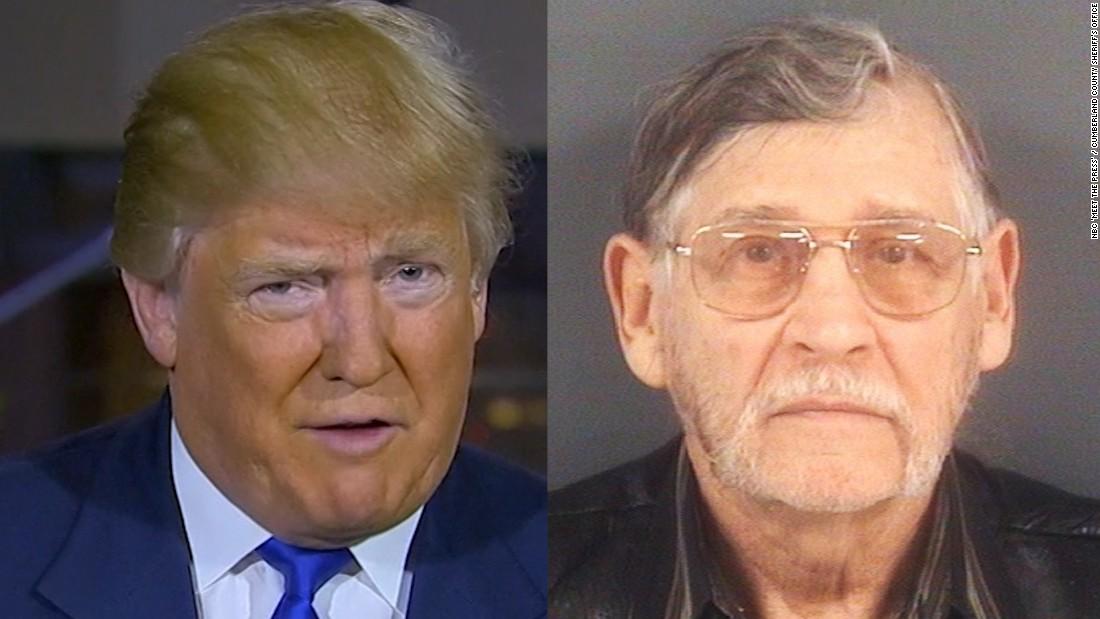 John Punch Lewis : Trump justifies rally sucker punch cnn video