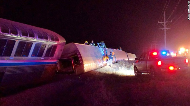 Amtrak passenger: Derailment was 'bone-chilling'