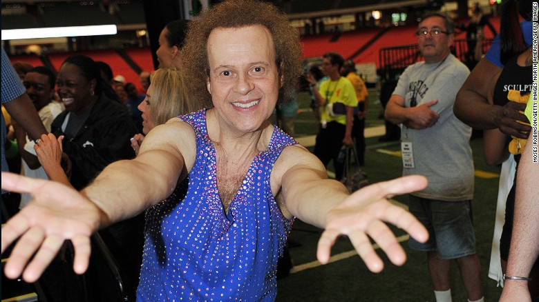 Where is Richard Simmons?