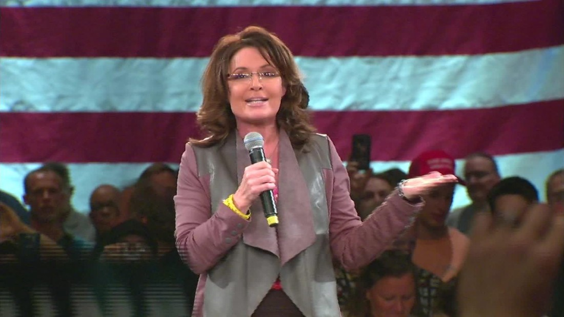 Palin on Trump protesters: 'Punk-ass, little thuggery'