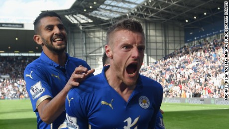 Vardy and Mahrez have been key players in Leicester's charge to the top.