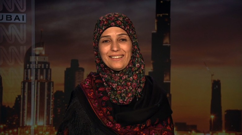 Palestinian teacher on winning $1 million prize