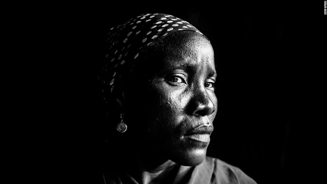 Saratu Zakariya spent seven months in captivity. A Christian, she was forced to learn the Quran and threatened with death if she didn't obey and marry a Boko Haram fighter. When she refused, she was severely whipped. She eventually escaped during an evening prayer when the fighters went to a mosque. Her children were kept in a different camp, and she did not know their whereabouts.