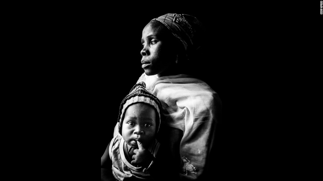 Hajaru Buba's child was the result of a Boko Haram rape, Spyra said.