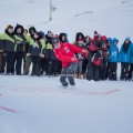 Snow snake at the 2016 Arctic Winter Games