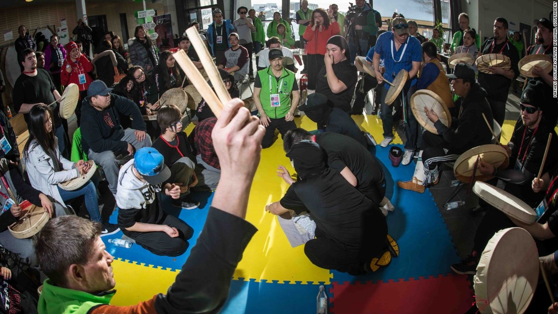 Dene Games are another sport rarely seen by mainstream audiences, but which feature prominently at the two-yearly competition.