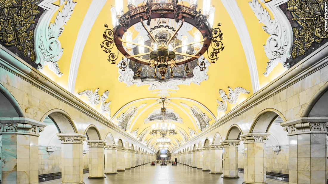 The Ornate Beauty Of Moscows Palatial Metro Stations CNN Style - The 12 most beautiful metro stations in the world
