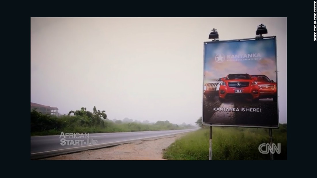 "Kantanka is a big deal in a country where many items are imported. ""In the future we have a plan to build sports cars, buses and really expand in Africa with more models,"" said CEO Safo Jr."