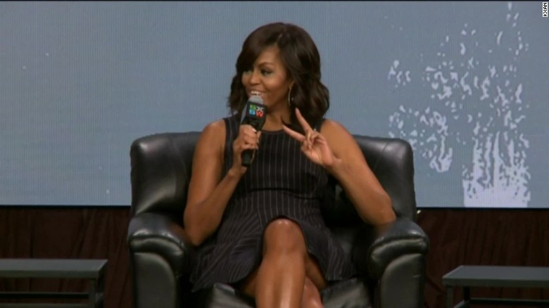 Michelle Obama: I will not run for president