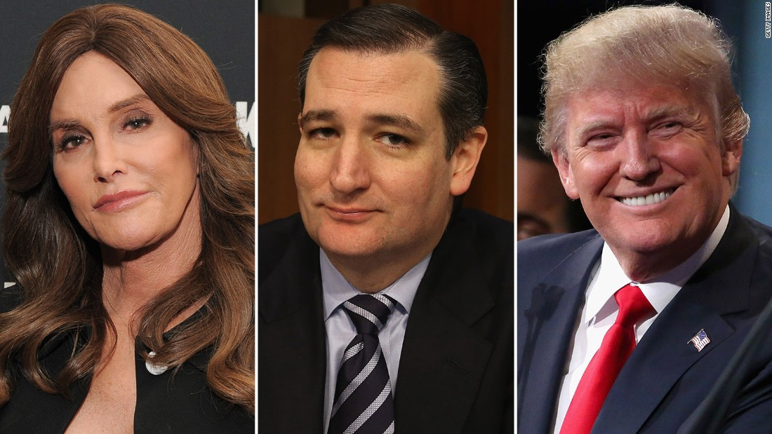 . Jenner  Cruz  Trump and the transgender bathroom debate   CNN Video