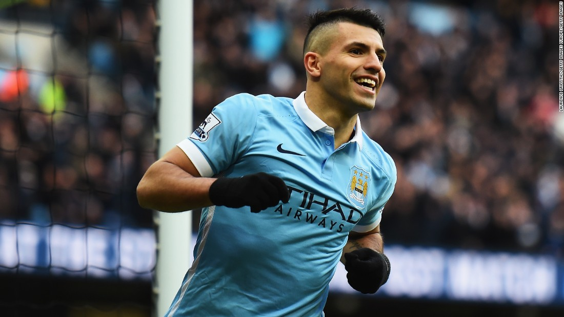 Sergio Aguero's Manchester City is into the quarter-finals for the first time.