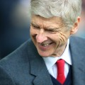arsene wenger smiling arsenal