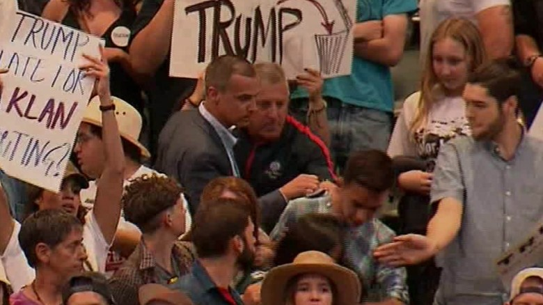 Trump aide involved in altercation at rally
